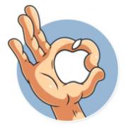 Steve Jobs WA Sticker